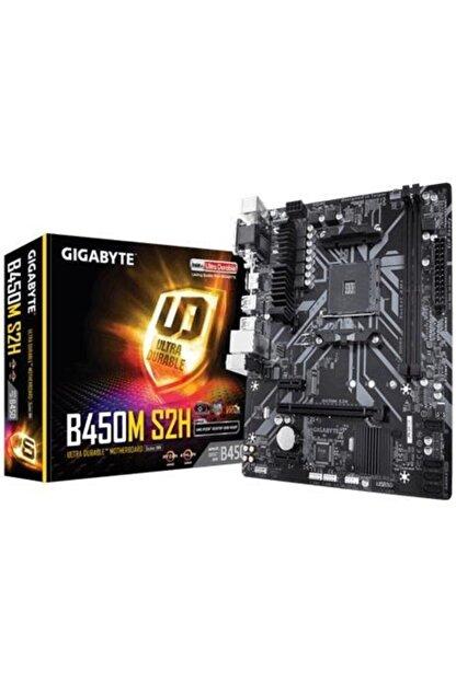 Gigabyte Gıgabyte B450m S2h Amd B450 Socket Am4 Ddr4 3200mhz(o.c.) M.2 Usb 3.1 Anakart