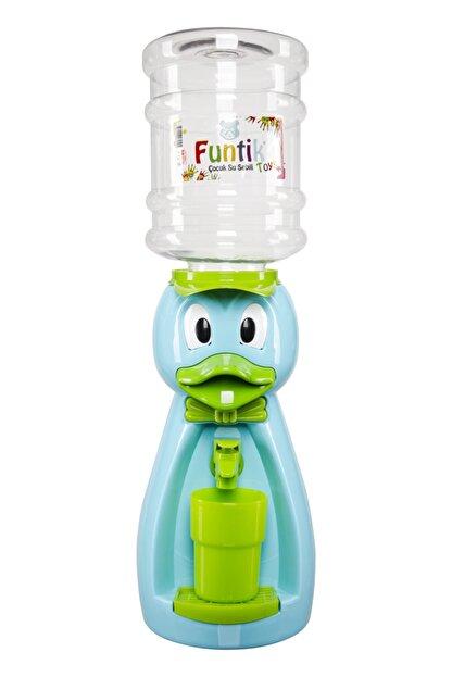 Funtik Toys Mavi Ördek Çocuk Su Sebili