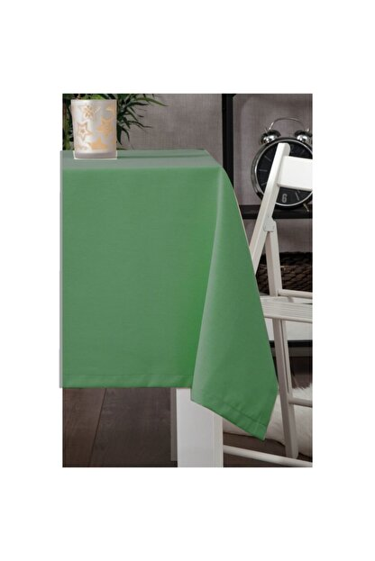 Zeren Home Leke Tutmaz Dertsiz Masa Örtüsü Koyu Yeşil 140 X 200 Cm