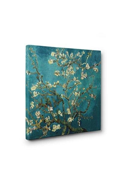Dekoratif Market 100 X 100 Cm - Çiçek Açan Badem Ağacı - Vincent Van Gogh