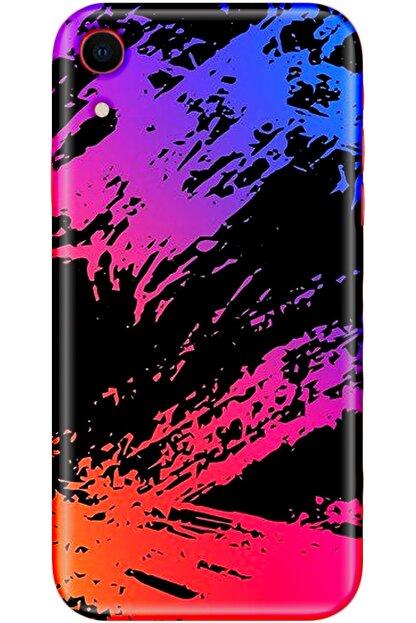 Noprin Apple Iphone Xr Kılıf 6.1inç Silikon Baskılı Desenli Arka Kapak