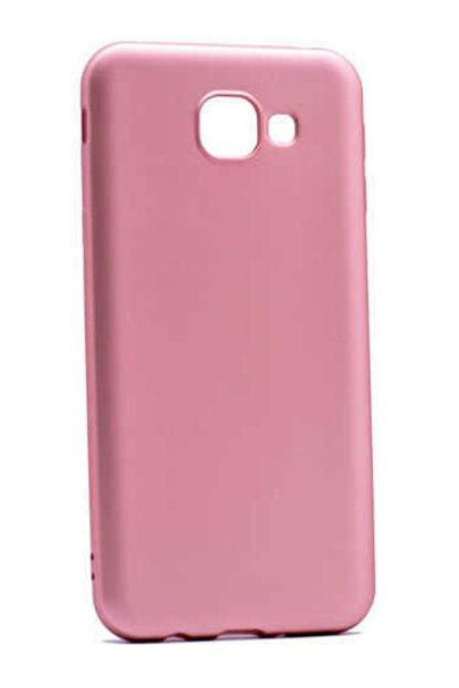 Zore Galaxy A8 2016 Rose Gold  Premier Silikon Kılıf
