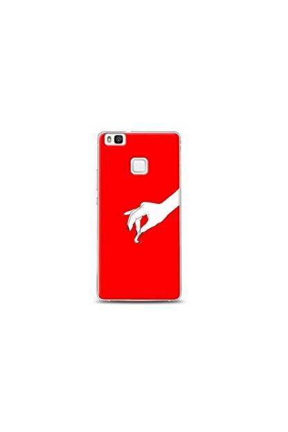 Kılıf Madeni Huawei P9 Lite Kırmızı Koleksiyon Telefon Kılıfı Y-krmklf036