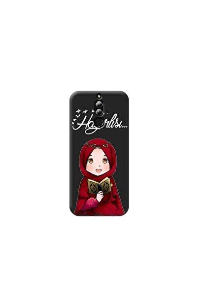 Kılıf Madeni Huawei Mate 10 Lite Islami Bayan Tasarımlı Telefon Kılıfı Y-klfis0177