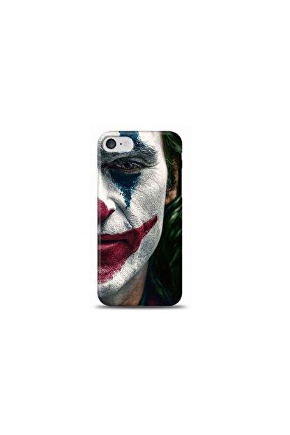 Kılıf Madeni Iphone 8 Joker Tasarımlı Telefon Kılıfı