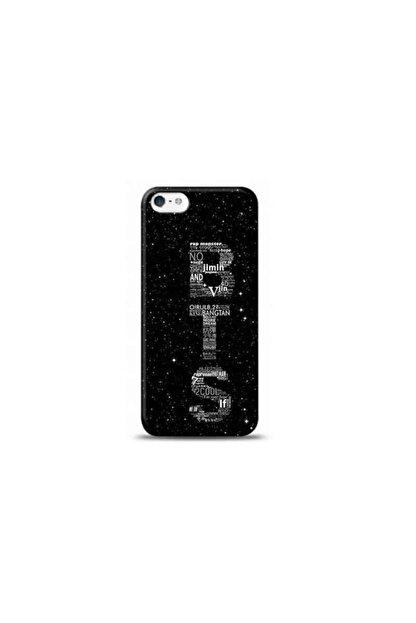 Kılıf Madeni Iphone 5s Bts Tasarımlı Telefon Kılıfı Y-btskf0005