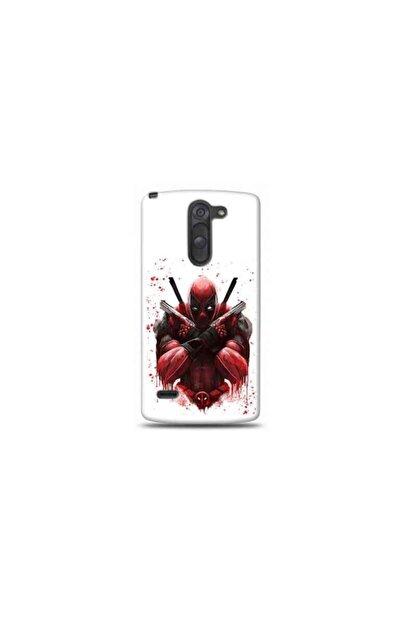 Kılıf Madeni Lg G4 Stylus Deadpool Tasarımlı Telefon Kılıf