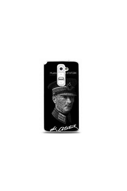 Kılıf Madeni Lg G2 Mustafa Kemal Atatürk Tasarımlı Telefon Kılıfı