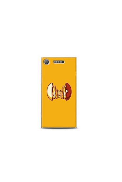 Kılıf Madeni Sony Xperia Xz1 Pikacu Tasarimli Telefon Kilifi Y-pokemon0011