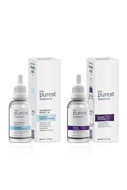 The Purest Solutions Yoğun Nemlendirme Ve Kırışıklık Karşıtı Onarıcı Bakım Seti