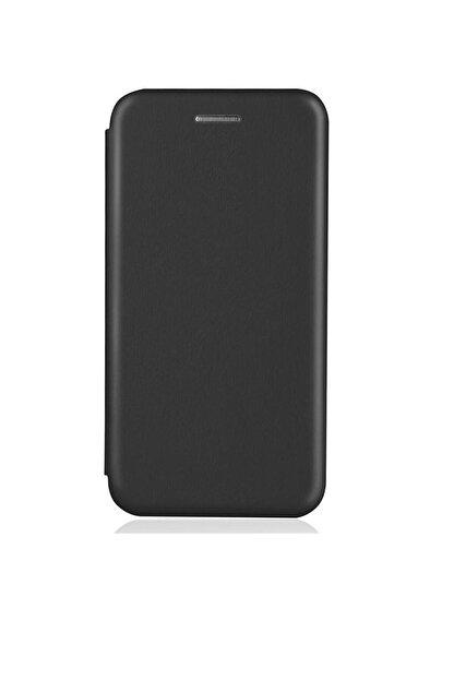 Omelo Samsung Galaxy A70 Kılıf Flip Cover Gizli Mıknatıslı Dikişsiz Standlı Ön Arka Koruma