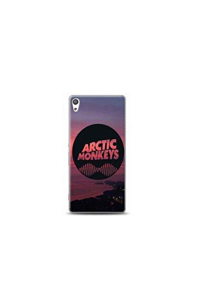 Kılıf Madeni Sony Xperia Xa Arctic Monkeys Tasarımlı Telefon Kılıfı