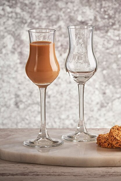 Paşabahçe Beyaz 6'lı Grappa Kahve Yanı Su Bardağı