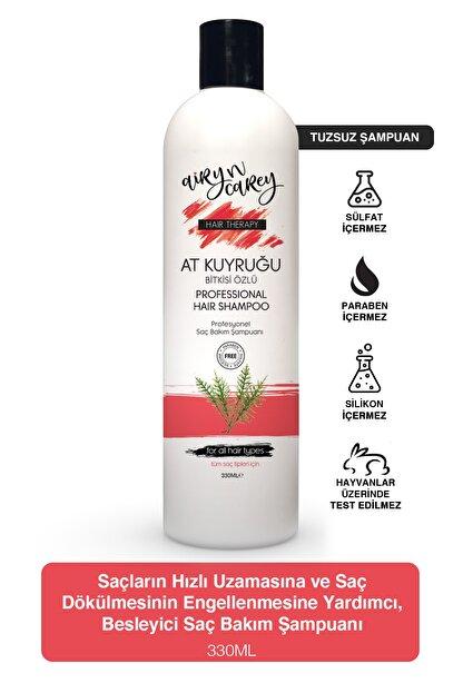 Airy n Carey Tuzsuz Şampuan, Dökülme Karşıtı, Hızlı Saç Uzatan Sülfatsız At Kuyruğu Şampuanı 330ml 86829837004anc
