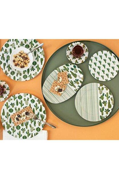 Porland Kaktüs Kahvaltı Takımı 36 Parça