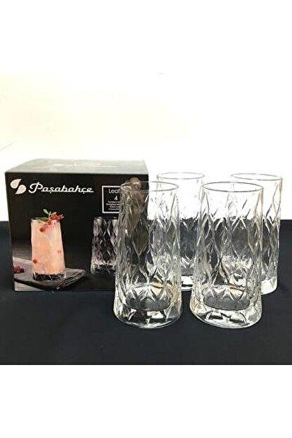 Paşabahçe 420955 Leafy Meşrubat Bardağı 4'lü