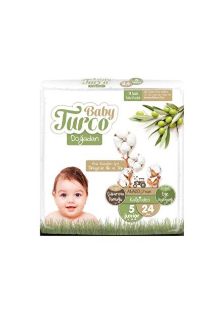 Baby Turco Doğadan 5 Numara Junior 24 Adet