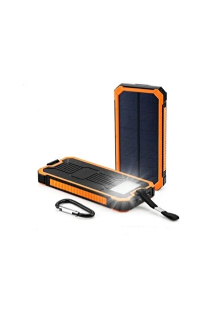 Angel Eye 12.000 Mah Solar Güneş Enerjili Powerbank Kamp Tipi Led El Feneri