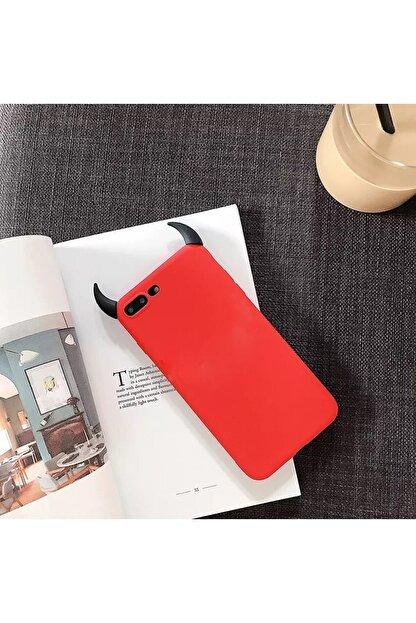 Mobildizayn Galaxy A71 Şeytan Boynuzlu Silikon Kılıf