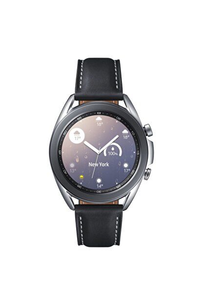 Samsung Galaxy Watch3 41mm Gümüş Akıllı Saat (Samsung Türkiye Garantili)