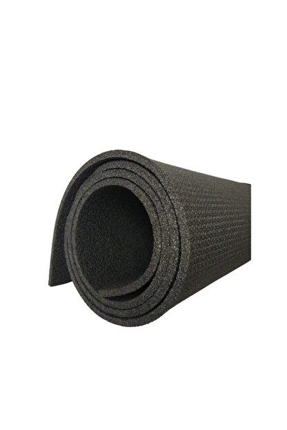 Om Guru Yoga Pilates Matı Antrasit Desenli Yoga Mat 6,5mm
