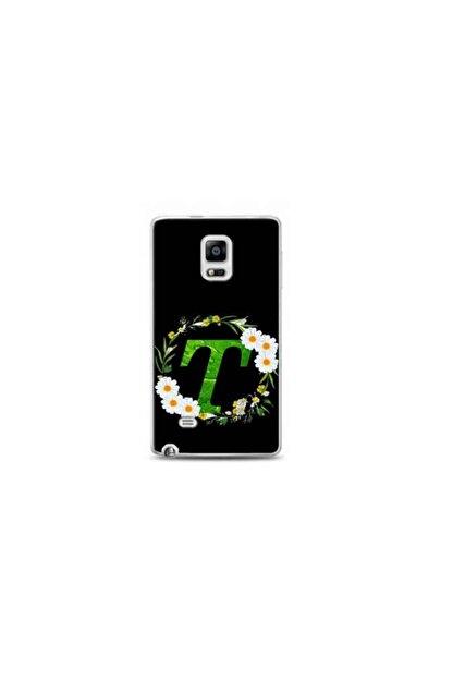 Kılıf Madeni Samsung Galaxy Note 4 Edge T Harfli Papatya Tasarimli Telefon Kilifi Y-papatyat