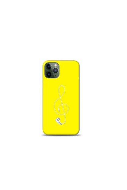 Kılıf Madeni Iphone 11 Pro Max Solo Anahtarı Sarı Koleksiyon Telefon Kılıfı Y-srklf098