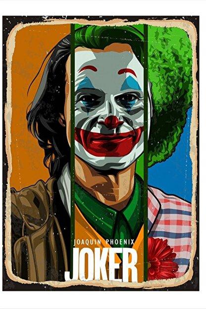 Tablomega Joaquin Phoenix Joker Desenli Mdf Tablo 25cm X 35cm