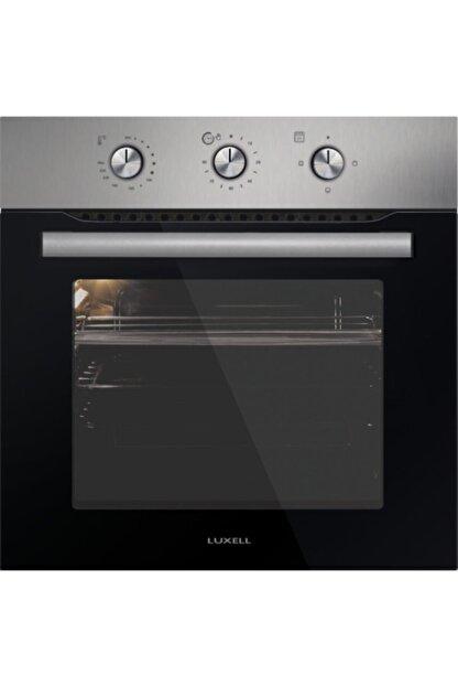 Luxell A6s3-mt Inox Saatli Statik Fırın