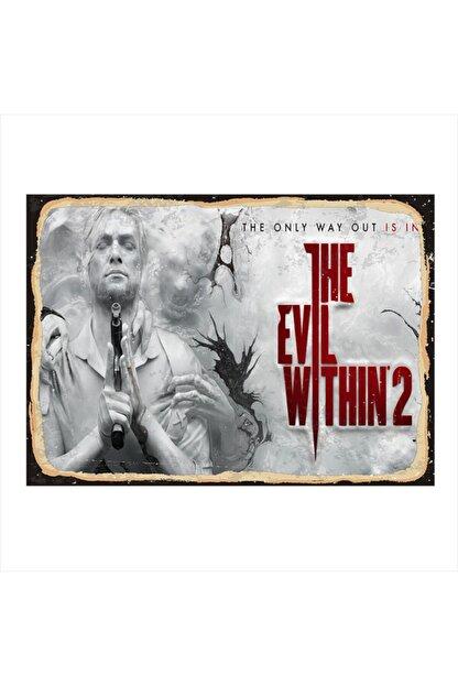 Tablomega Ahşap Tablo The Evil Within 2 50cm X 70cm