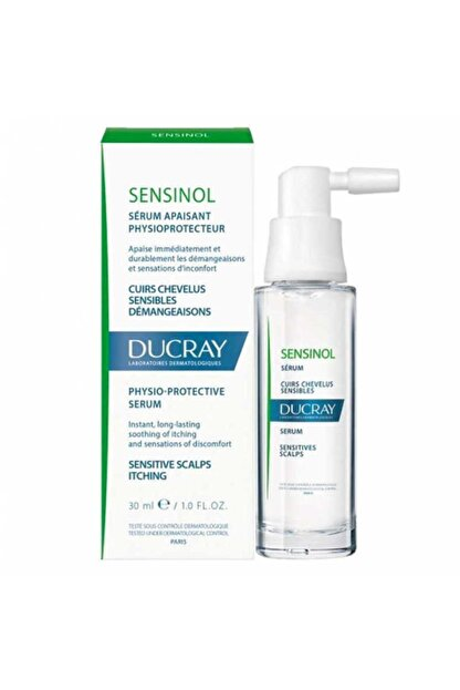 Ducray Hassasiyet Ve Kaşıntı Karşıtı Serum, Saç Derisi - Sensinol Serum 30 ml 3282779417006