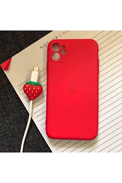 SUPPO Iphone 11 Kamera Korumalı Model, Logolu Lansman Kılıf Ve Kablo Koruyucu