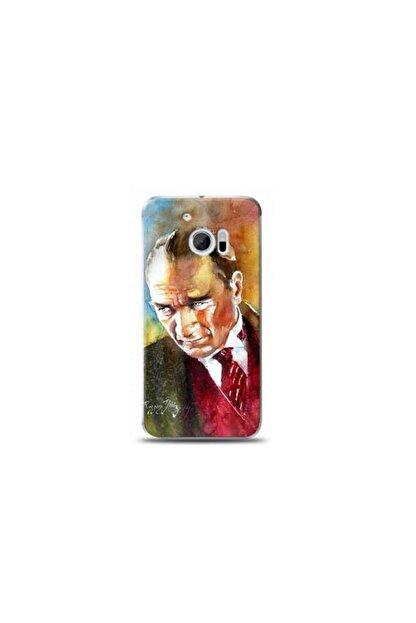 Kılıf Madeni Htc M10 Mustafa Kemal Atatürk Tasarımlı Telefon Kılıfı