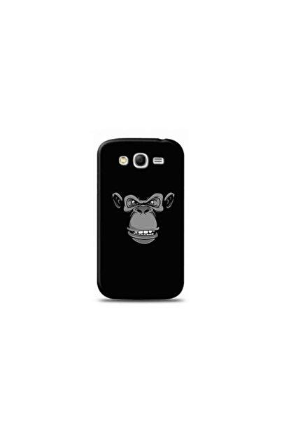 Kılıf Madeni Samsung Galaxy Grand 2 Maymun Tasarımlı Telefon Kılıfı