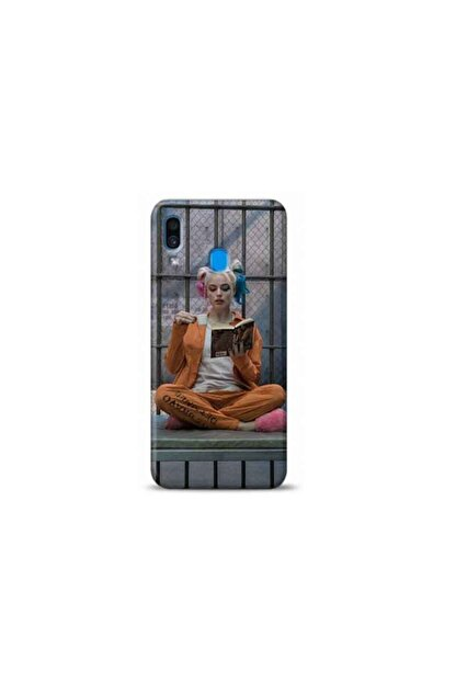 Kılıf Madeni Samsung Galaxy A30 Harley Quinn Tasarımlı Telefon Kılıfı