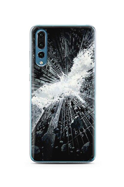Spoyi Gökdelen Tasarım Süper Şeffaf Silikon Telefon Kılıfı Huawei P20 Pro