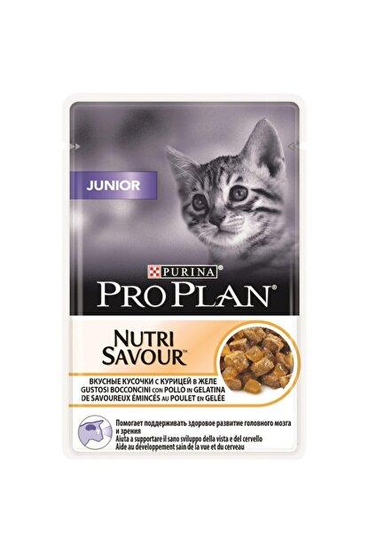 Proplan Pouch Junior Tavuklu Yaş Kedi Maması 85 gr