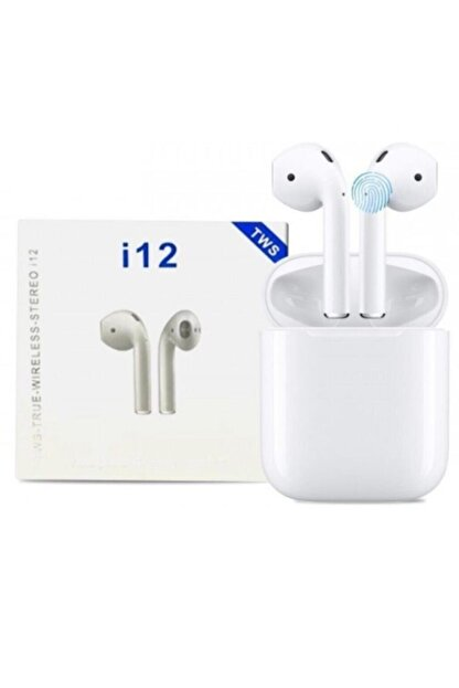Tws J55 I12 Beyaz I12 Bluetooth V5.0 Kablosuz I12 Iphone Uyumlu Bluetooth Kulaklık Hd Ses Kalitesi