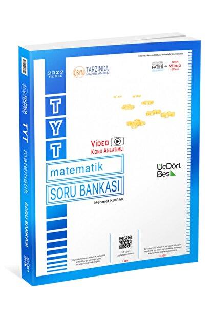 Üç Dört Beş Yayıncılık 345 Tyt Matematik Soru Bankası 2022 Model Yeni