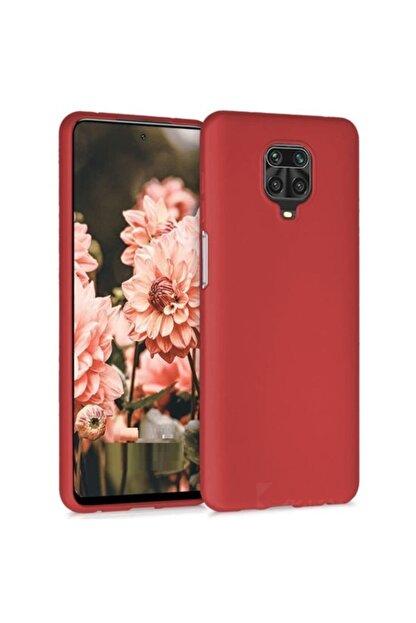 Telefon Aksesuarları Redmi Note 9s - Note 9 Pro - Max Yumuşak Silikon Kılıf Kırmızı