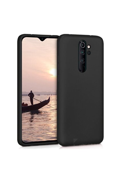 Telefon Aksesuarları Redmi Note 8 Pro Yumuşak Silikon Kılıf Siyah