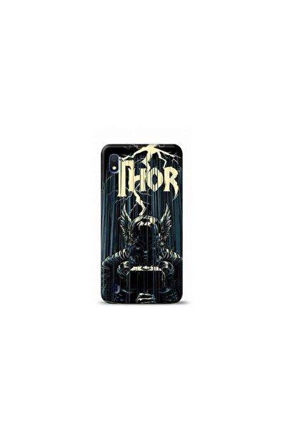 Kılıf Madeni Samsung Galaxy A10 Thor Tasarımlı Telefon Kılıfı