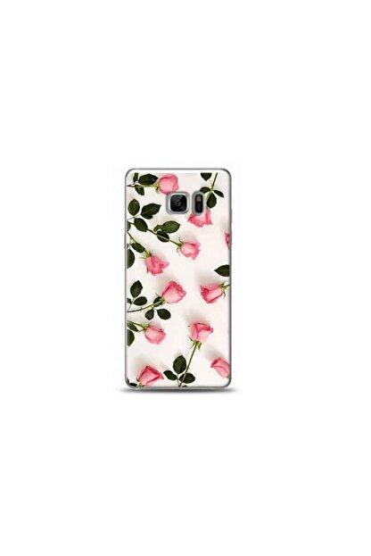 Kılıf Madeni Samsung Galaxy Note Fan Edition Lale Tasarımlı Telefon Kılıfı Y-bayanlara0061