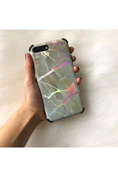 Mobildizayn Galaxy A71 Parlak Lüks Mermer Desenli Kılıf