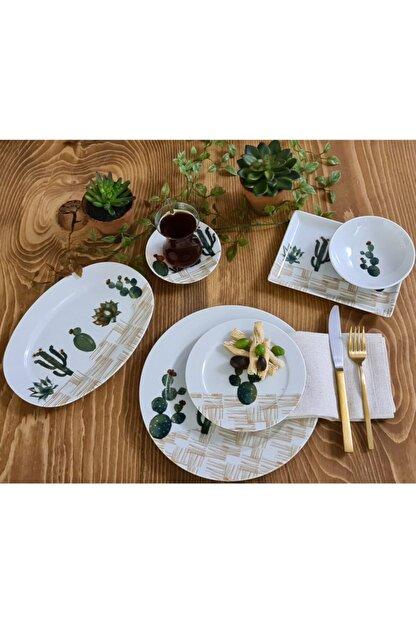 Porland Nevada Kaktüslü Kahvaltı Takımı
