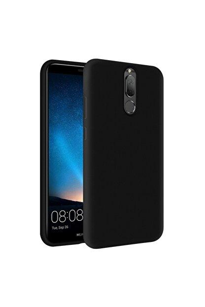 KZY İletişim Huawei Mate 10 Lite Içi Kadife Soft Logosuz Lansman Silikon Kılıf - Siyah