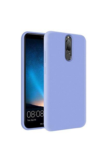 KZY İletişim Huawei Mate 10 Lite Içi Kadife Soft Logosuz Lansman Silikon Kılıf - Lila