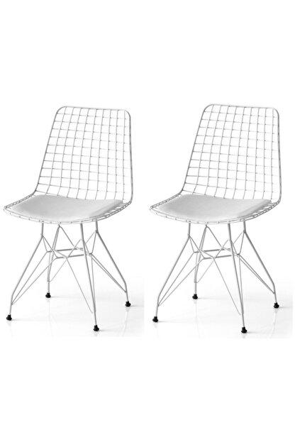 SANDALYENBURADA Tel Sandalye ---2 Li Fiyattır---cafe Sandalyesi-mutfak Sandalyesi-bahçe Sandalyesi