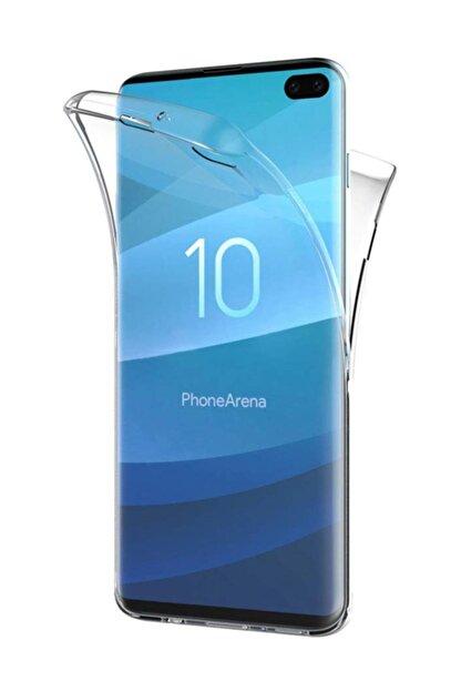 Kılıfreyonum Samsung Galaxy S10 Plus Kılıf 6 Tarafı Tam Full Koruma 360 Ön Arka Kılıf