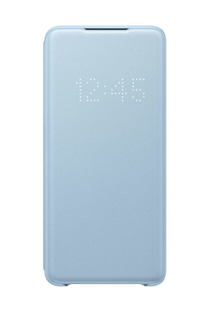 Samsung Galaxy S20 Plus LED View Kılıf Mavi